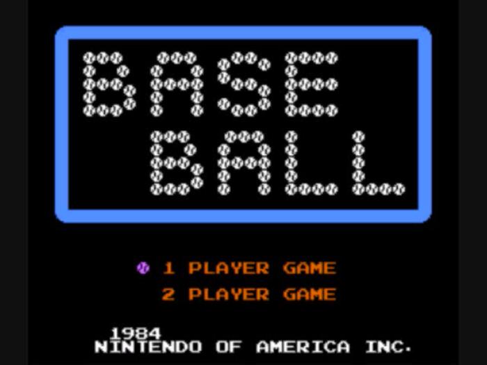 Challenge Flag: Baseball(NES)