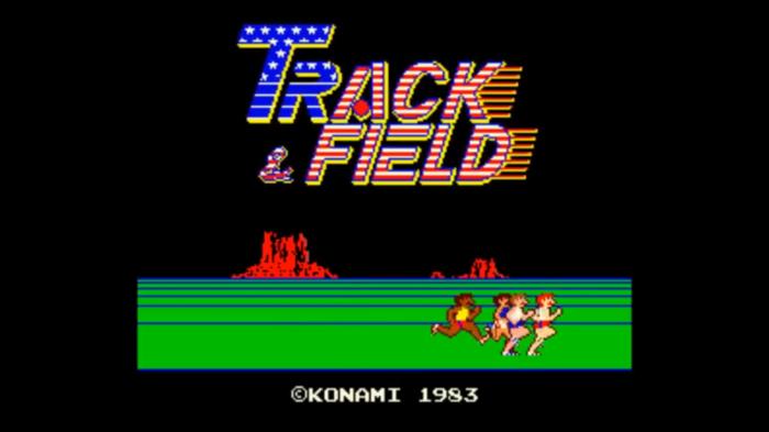 Coin Toss: Track & Field (Konami,1983)