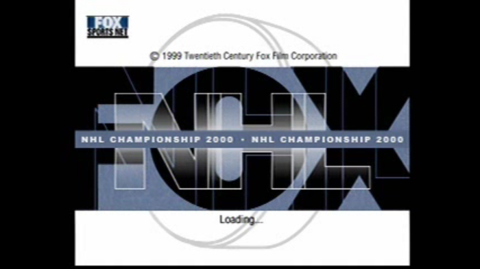 In The Booth: FOX NHL Championship 2000 (PlayStation, 1999)