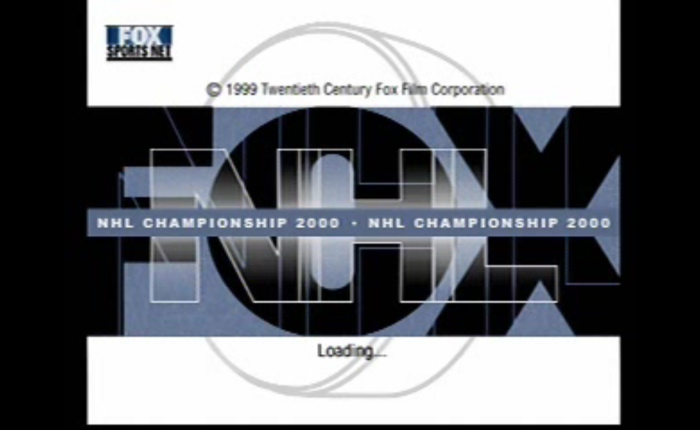 In The Booth: FOX NHL Championship 2000 (PlayStation,1999)