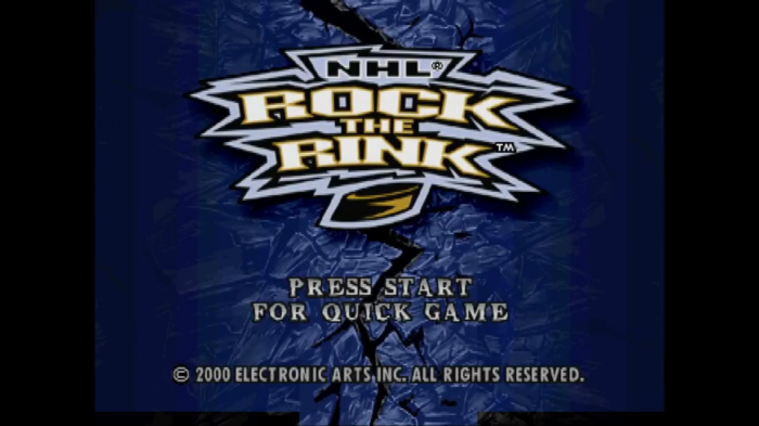 After Further Review: NHL Rock the Rink (PlayStation,2000)
